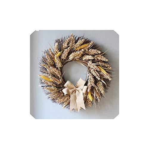 mijn kat Kerst Krans Kunstplanten Bedankt geven Home Decor muur opknoping ornamenten slinger ornamenten muur Cumplea