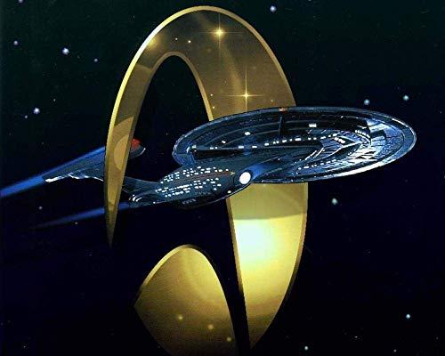 Colección Jigsaw Puzzle - Star Trek a Todo Color (1000 Piezas): una Nave Espacial Que atravesó el Anillo Dorado - DIY Adult Kids Grown Up Puzzles Juegos educativos para niños Adultos Regalos