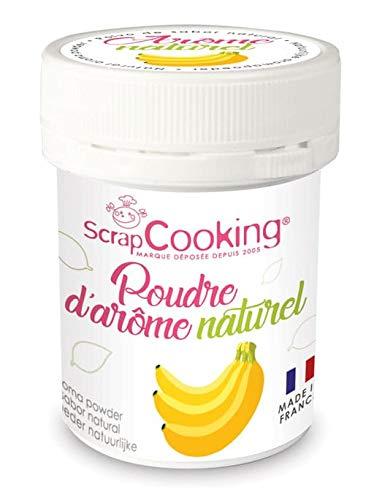 Aroma voedsel natuurlijk poeder Banaan - Scrapcooking