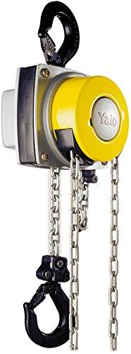 Yale amz1021241mano cadena, 360MKIII, Single Descenso acabado, estándar, 1000kg, 3m