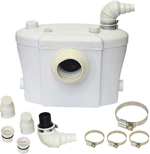 Bomba trituradora Steriflux ® para sanitarios. Mejor alternativa, súper silencioso, 3 entradas, sin oloresMejor solución sanitaria 3 en 1.