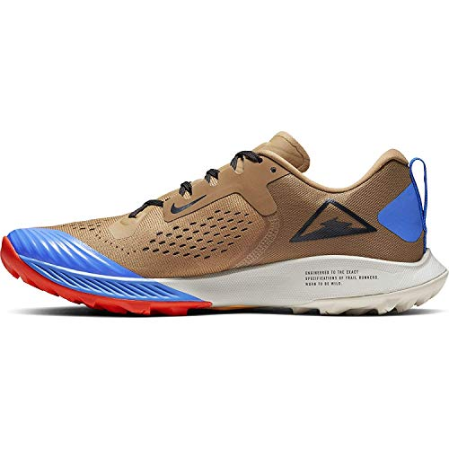 Nike Air Zoom Terra Kiger 5 Men's Running Shoe BEECHTREE/Off Noir-Cargo Khaki 8.5