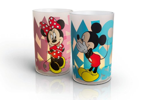 Philips CandleLight Set Micky und Minnie 2-er Set 915004354301