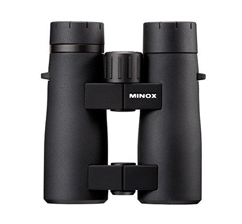 MINOX BF 10x42 Magnification Waterproof Compact & Lightweight Anti-fog Binoculars with Nitrogen Filling, Twisting Eyecups and Tripod Socket