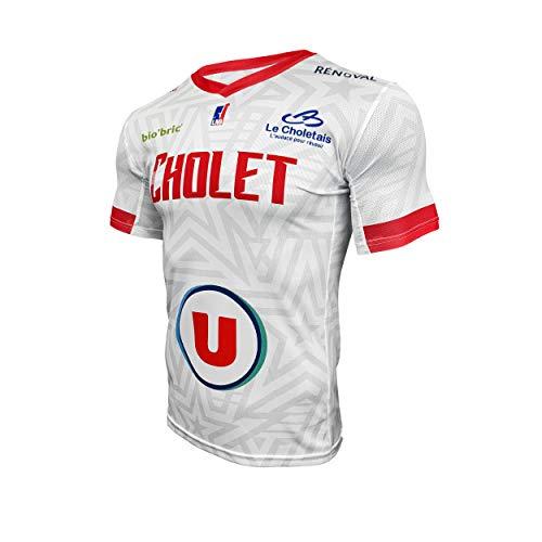 Cholet Offizielles Trikot 2019-2020 Basketball Unisex XXL weiß