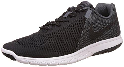 Nike Men's Flex Experience RN 4 Black/Black Dark Grey White Running Shoe - 10.5 D(M) US