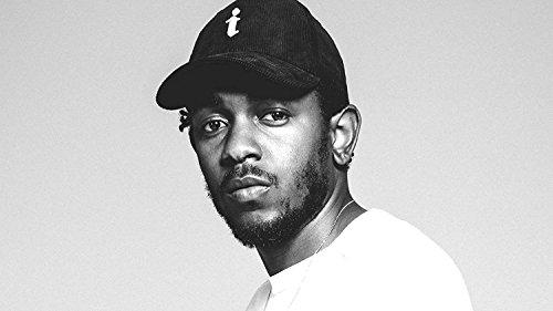 bribase shop Kendrick Lamar rap Singer Fabric Cloth Rolled Wall poster stampa 43 inch x 24 inch K