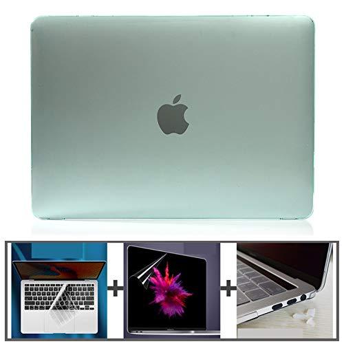 Caja de la computadora portátil Estuche para portátil Duro de Cristal para...