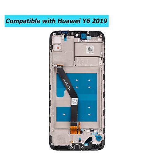 E-YIIVIIL LCD Display Für Huawei Y6 2019 MRD-LX1F MRD-LX1 MRD-LX3 Y6 Prime 2019 MRD-LX2 Rahmen LCD Touch Screen with Tools