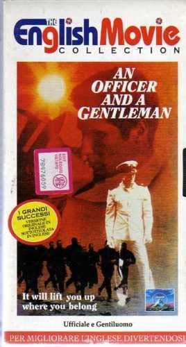 An officer and a gentleman- Ufficiale e gentiluomo VHS versione originale in inglese sottotitolata in inglese