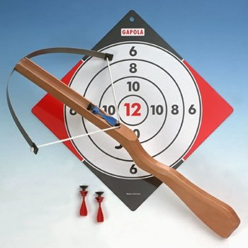 Gapola Armbrust groß Holz Kinderarmbrust Set