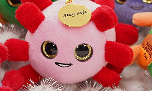 Stay Safe and Happy Valentine's Day COVID Pink Rona Cutie - Funny Unique Gag Gift for Friends, Family, Coworkers, Boys and Girls