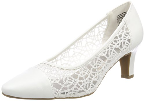 JANE KLAIN Damen 224 992 Pumps, Weiß (White), 38 EU