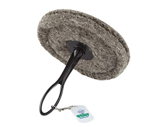 Big Save! Flueblocker Round Chimney Herdwick Wool Wood Stove and Fireplace Draft Stopper Plug Exclud...