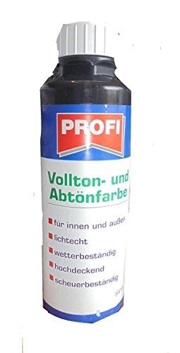 Vollton- und Abtönfarbe für innen und außen, schwarz