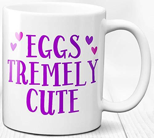 Ostern Thema Becher Eggstremely süße Sendezeit süße se 330 ml Keramik Kaffee Teetasse