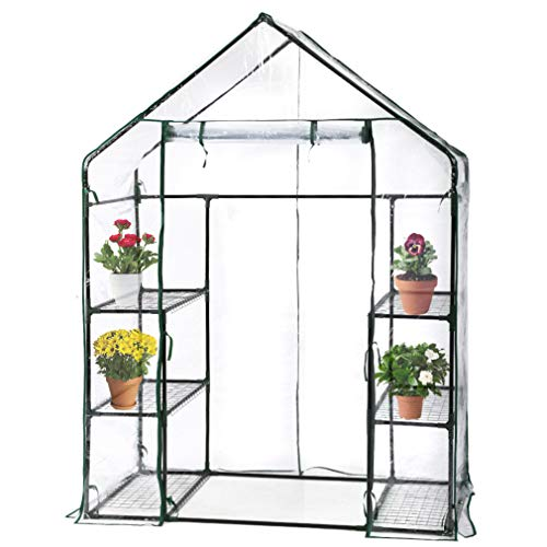 FDW Greenhouse for Outdoors Greenhouse Plastic Mini Greenhouse Kit Indoor Small Portable Greenhouse...