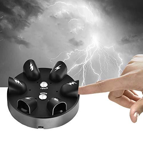 Wandisy 【𝐂𝐡𝐫𝐢𝐬𝐭𝐦𝐚𝐬 𝐆𝐢𝐟𝐭】 Detector de mentiras de Descarga eléctrica Micro, Juego de Mesa de Fiesta de Verdad de Juguete de Prueba de polígrafo