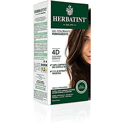Herbatint 4D Golden Chestnut Permanent Herbal Hair Colour Gel 135ml