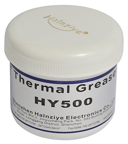 Halnziye HY500100g vasca/can nano-carbon grasso pasta termica CPU 1.93W/m-k–resistente alle alte temperature