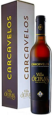 Portuguese Villa Oeiras Vinho Generoso - Estremadura - Lisboa, Portugal - 18.5% - 37.5cl - Dessert Wine - Rich and Warming - Ramisco Grape - Great gift wine - Great with Chocolate and Caramel Desserts