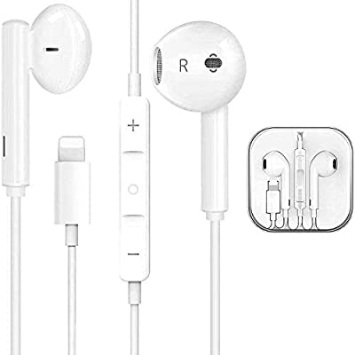 NlorewIlluminated headset headset in-ear wired headset microphone/phone and volume control by Nlorew