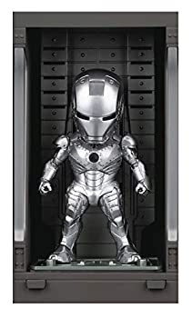 Beast Kingdom Iron Man 3  Iron Man Mk II with Hall of Armor Mea-015 Mini Egg Attack Figure Multicolor