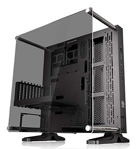 Thermaltake Core P3 TG Mid Tower Schwarz / Wallmount-Gehäuse / LCS Ready