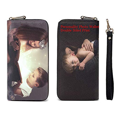 Personality Women Leather Wallet Clutch Bag Card Case Cash Holder Wallets Custom Photos Wallets Print Any Photo