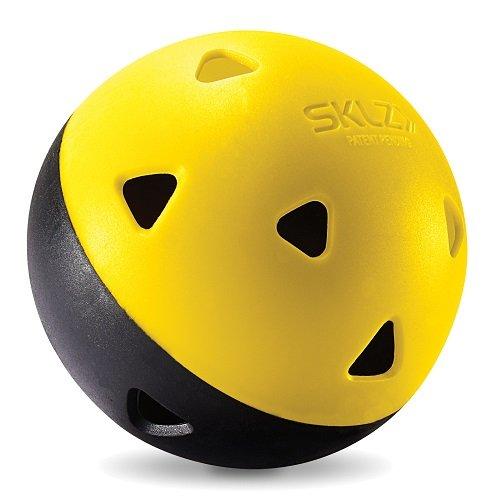 SKLZ Impact Limited-Flight Practice Baseball, Softball, and Mini Balls (Softballs, 8 Pack)