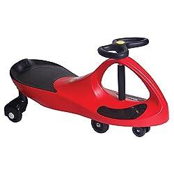 red plasma car toy