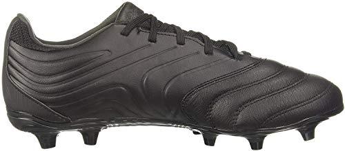 adidas Mens COPA 20.3 FG Football Shoe, Core Black/Core Black/DGH Solid Grey, 45 1/3 EU