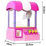 Ouqian-BB Garra Toy Grabber la Máquina Clip de la muñeca de la máquina doméstica pequeña cápsula Caramelo de Monedas de la máquina de Juego de fichas for niños de Juguete Mini Máquina de Garra