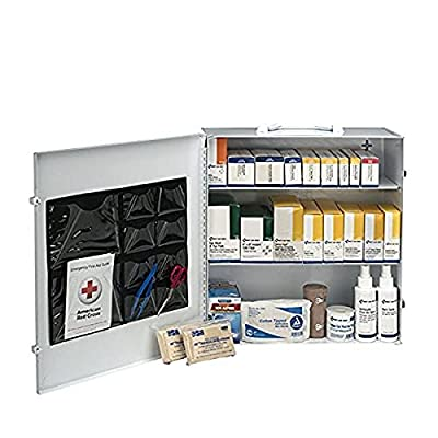 First Aid Only 100 Person 3 Shelf First Aid Steel Cabinet by Acme United