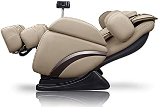 ideal massage Full Featured Shiatsu Chair with Built in Heat Zero Gravity Positioning Deep Tissue Massage - Beige