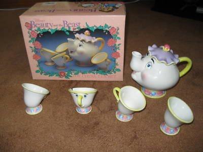 Beauty and the Beast Toy China Tea Set