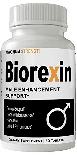 Biorexin Male Enhancement Supplement Advanced Enhancing Pills for Men 1 Month Supply Endurance and Strength Booster