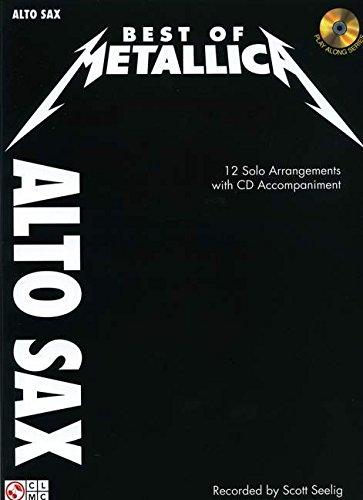 Metallica: Best Of - Alto Saxophone: Noten, CD für Alt-Saxophon: Instrumental Play-Along