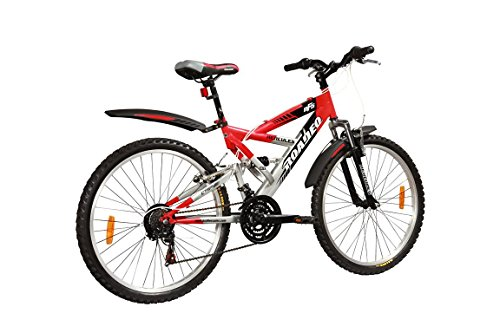 Hercules Roadeo NFS - 26 X 18-18 Speed Bicycle (Red/Silver)