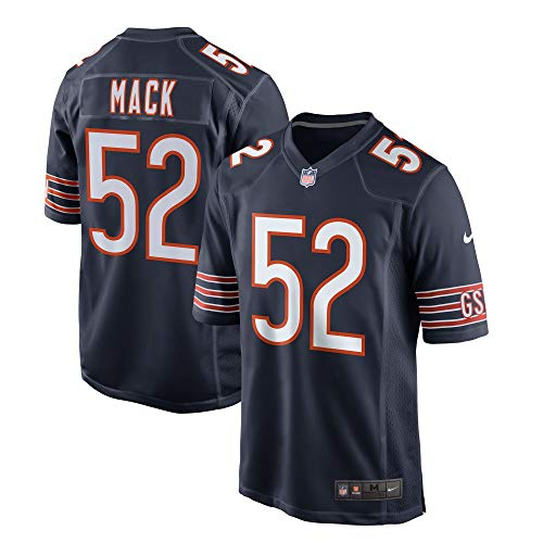 Nike Khalil Mack Chicago Bears NFL Kids 4-7 Navy Home On-Field Game Day Jersey (Kids 5/6)