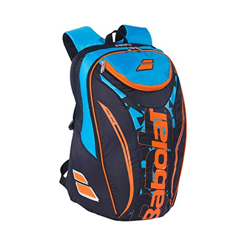 Babolat Backpack Club Padel Mochila  Adultos Unisex  Noir Bleu  Multicolor   Talla Única