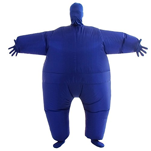 VOCOO Lnflatable Costumes Adult Size Inflatable Body Suits Pants (Blue), 14x3x12
