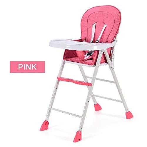 YXB baby eetkamerstoel opvouwbare multifunctionele draagbare kinderstoel tafelstoel kan worden aangepast 4 kleuren + drie niveaus