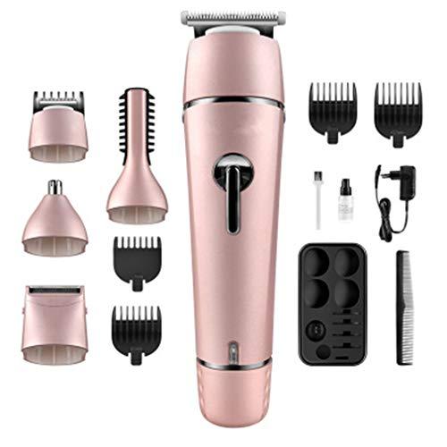 Hommes professionnel ménage 5 en 1 électrique tondeuse multifonction ménage faible bruit barbe rasoir outils personnels hommes faders chauve beauté outils hommes