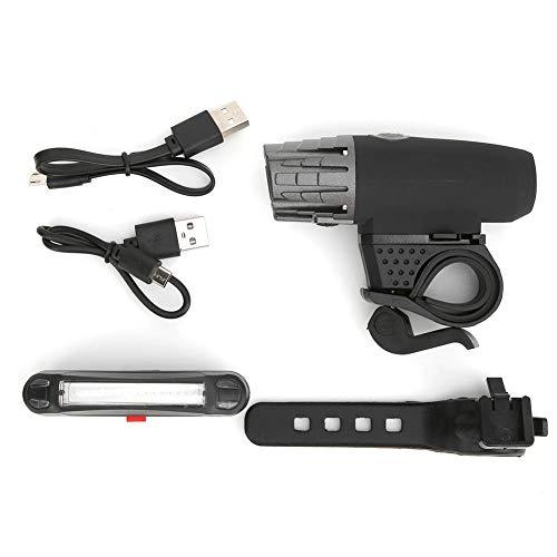 Demeras Fahrrad LED-Licht mit USB wiederaufladbar für einfach zu bedienende und zu entfernen Feld Camping, Ausflug