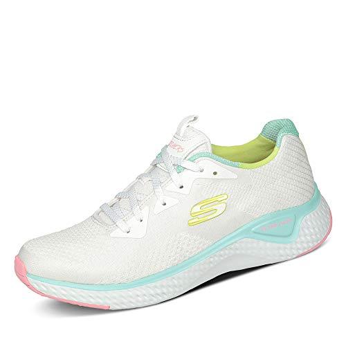 Skechers Calzado Deportivo Mujer Solar Fuse-Brisk Escape para Mujer Blanco 35 EU