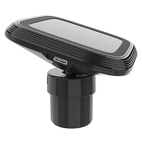 車載ホルダー マグネット 超強磁力 2in1 スマホホルダー 粘着ゲル吸盤&エアコン吹き出し口式兼用 スマホスタンド 車 携帯ホルダー iphone 車載ホルダー 取り付け簡単 360度回転 4-7インチ全機種対応 iPhone/Samsung/Sony/