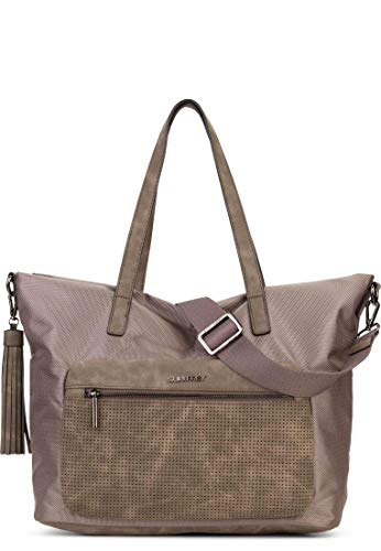 SURI FREY Damen Shopper-Tasche Daggy No.1 Taupe -
