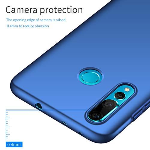 Avalri für Huawei Nova 4 Hülle, Ultradünne Handyhülle Hardcase aus PC Stoß- und Kratzfest Kompatibel mit Huawei Nova 4 (Glattes Blau) - 5