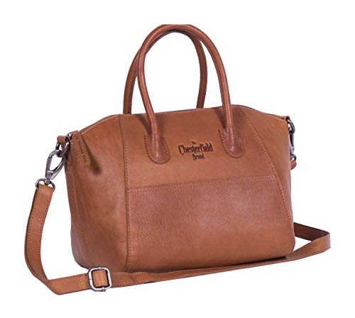 The Chesterfield Brand Wax Pull Up Alexa Handtasche Leder 25 cm